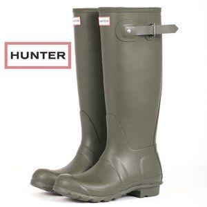 Hunter Original Tall Rain Boots - Size 8